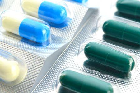 capsules in blister packs photo