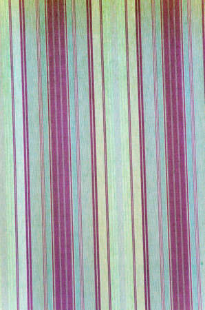 Background texture of a curtain with green vertical lines photo