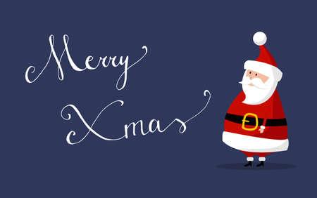 Basic Santa Claus Vector with