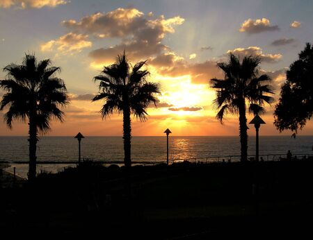 sunset, Natania Israel