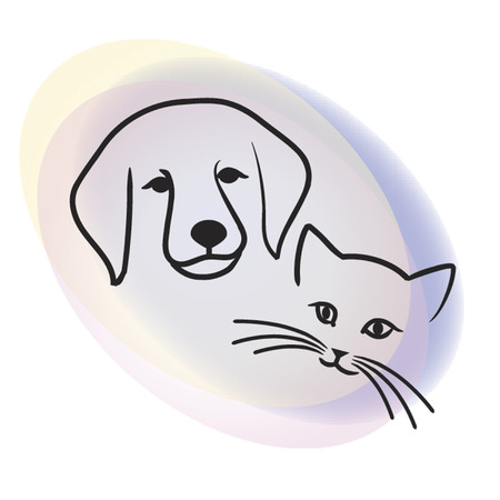 Dog & cat Stock Vector - 2221298