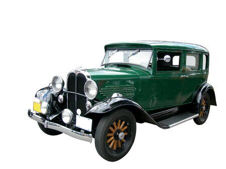 古い緑 car_ トリミング画像