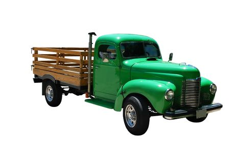 Old Green Truck Stock Photo - 7419458