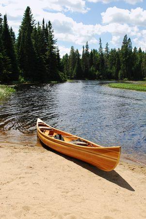 Yellow kayak  photo