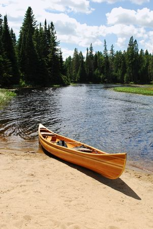 Yellow kayak Stock Photo - 8101853