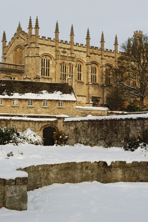 Oxford University building, Oxford, England