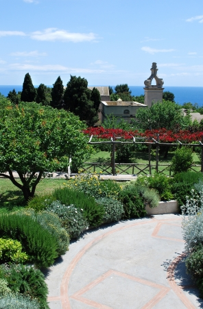 Capri Botanical Garden Stock Photo - 15903721