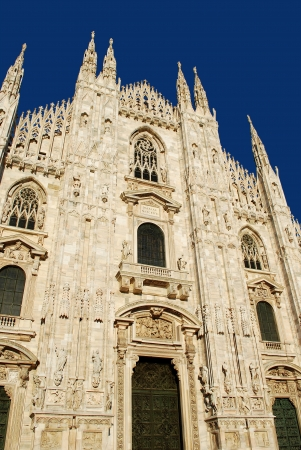Milan Cathedral or Duomo di Milano, Italy Stock Photo
