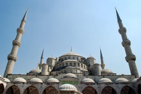 blue mosque: Blue Mosque Minarets