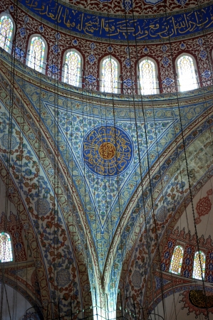 Blue Mosque Ornaments