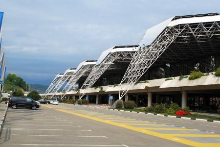 Sochi Airport area, Russia