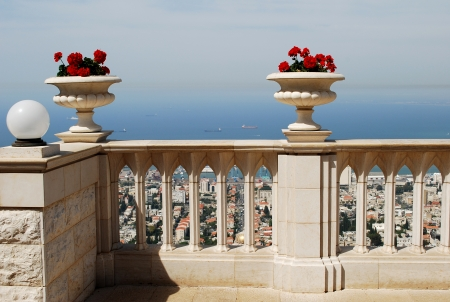 Bahai Terrace, Haifa, Israel photo
