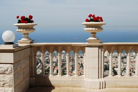 Bahai Terrace, Haifa, Israel