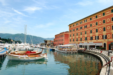 Port of Santa Margherita, Liguria, province of Genoa, Italy