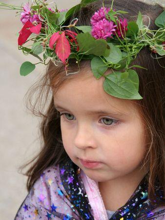 faerie: Faerie Child Stock Photo