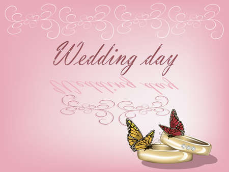 Wedding background Stock Vector - 11660275