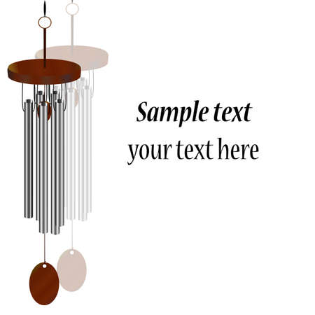 wind chime: Feng Shui  background