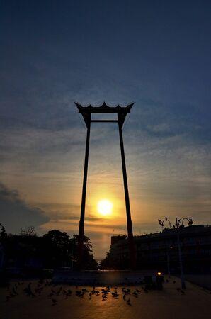cha: The Giant Swing  Thai Sao Ching Cha  Stock Photo
