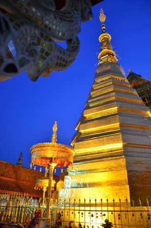 wat phra that cho Hae , Thailand photo