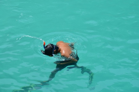 Scuba diving at Koh Chang Thailand photo