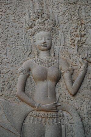 apsara: Apsara at Angkor Wat