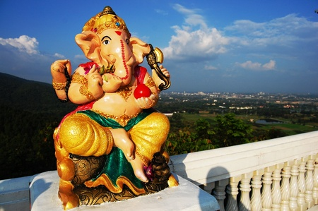 god figure: Ganesha or  Ganesh
