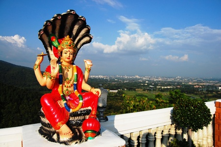 lord buddha: Lord Vishnu