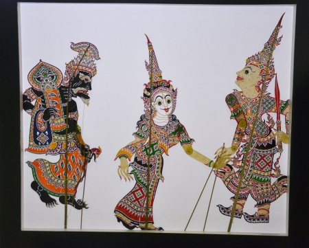 shadow puppets: Thailand Shadow Puppets Stock Photo