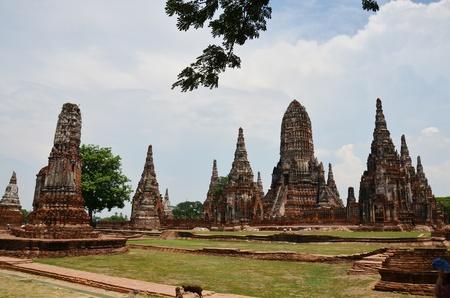 ayuthaya: WatChaiwatthanaram Ayuthaya Thailand