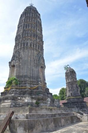 ratchaburi: Pagoda of Aranyikawas Temple at Ratchaburi Thailand
