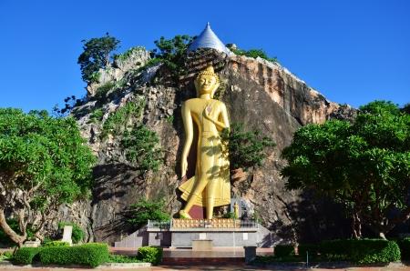 ratchaburi: Buddha at Khao Ngoo Rock Park   Ratchaburi   Thailand