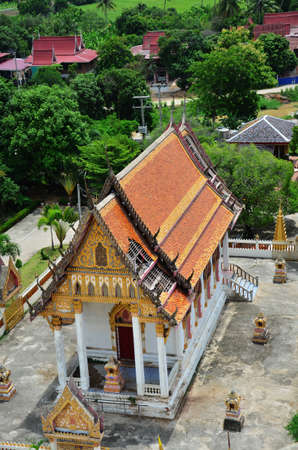 Temple at Ang Thong Province Thailand photo