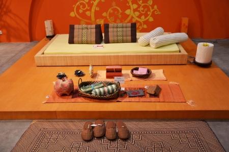 Bedding thai Style Stock Photo - 21955365