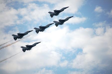 War Plane Show at Thailand Banque d'images