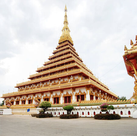 Pramahatat kaen nakron Temple , Mueang Khon Kaen , Thailand photo