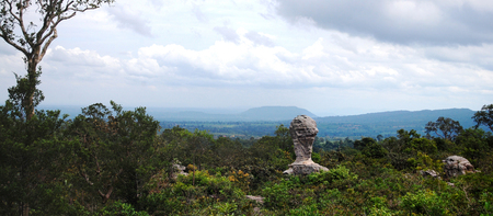 Panorama PA HIN NGAM National Park at Chaiyaphum Thailand photo