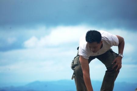 Portrait at PA HIN NGAM National Park photo