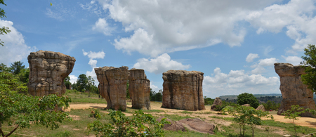 MOR HIN KHAOW AT CHAIYAPHUM Stonehenge of Thailand photo