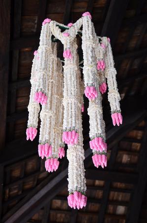 lanna: Big garlands Flower Lanna Style at Thailand