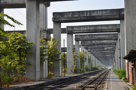 Bangkok Elevated Road and Train System  BERTS  or HopeWell Project at Bangkok Thailand
