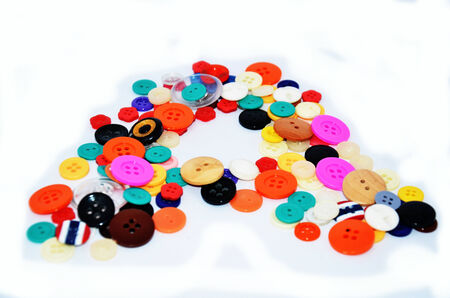 Buttons Colorful Stock Photo - 26099309