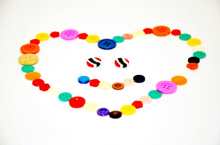 Love by Button colorful  photo