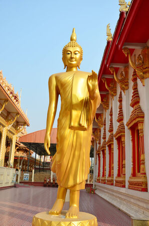 Buddha at  Wat Ras Prakorngthum Nonthaburi Thailand photo