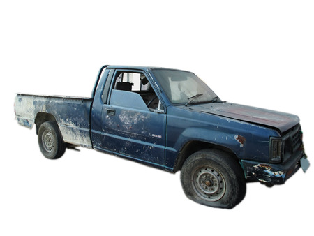Pick-up Car damage from Accident or Traffic collision 写真素材
