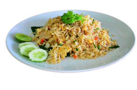 Fried rice Thai style photo