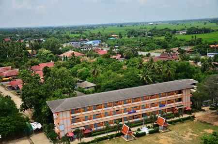 ang thong: Aerial view at Ang Thong Province, Thailand