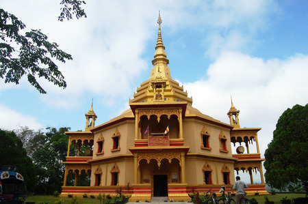 Wat Pa Phonphao in Luang Prabang City at Loas Lao People s Democratic Republic