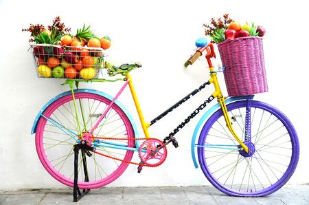 Bicycle Fruit Shop