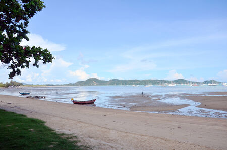 chalong: Chalong Bay Pier when water level low at Phuket Thailand