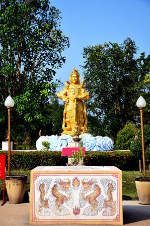 Chinese god warrior statue photo